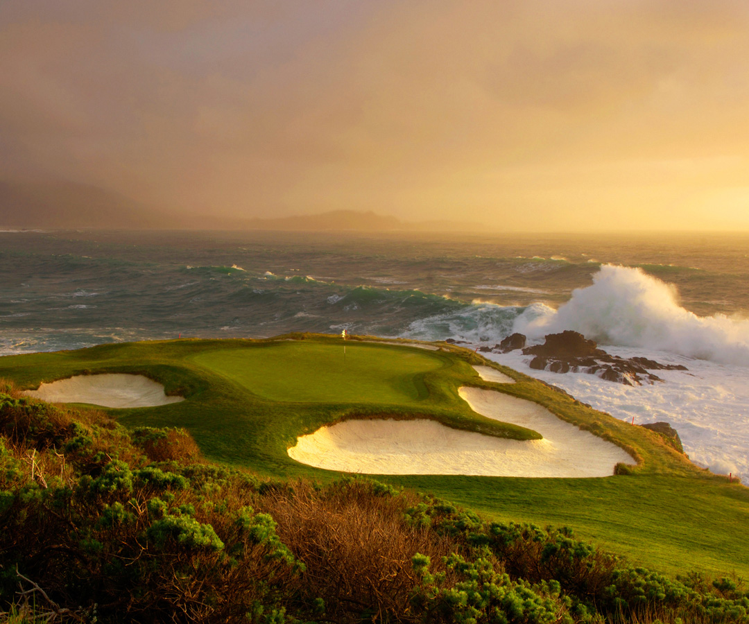 Pebble Beach Golf Links Hole 7 2