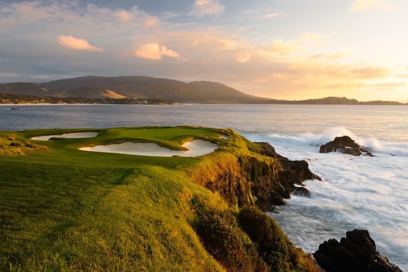 Pebble Beach Golf Links Hole 7 3