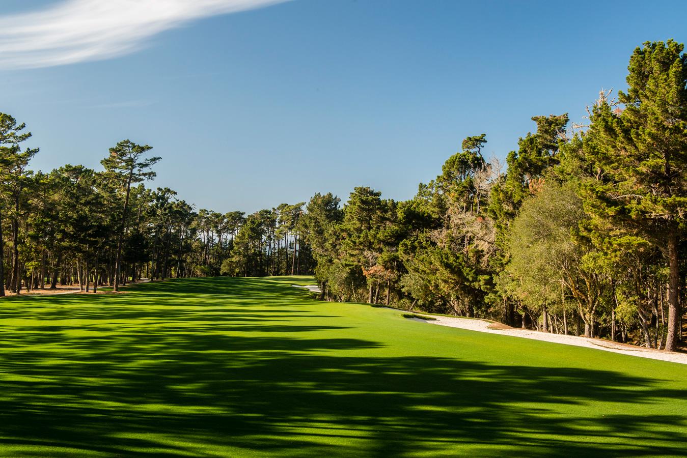 Poppy Hills Golf Course Hole 1 Joann Dost Golf Editions