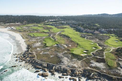 The Links at Spanish Bay**, Aerial View