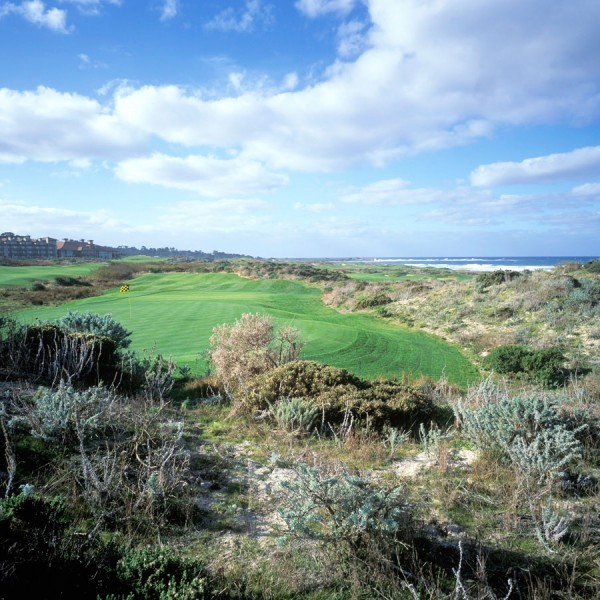 The Links at Spanish Bay**, Hole 18