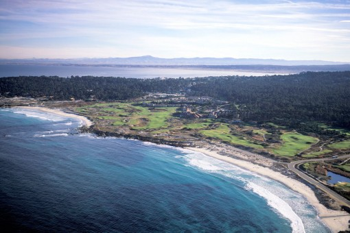 The Links at Spanish Bay**, Aerial View 2