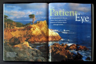Pebble Beach Magazine June 2010 Cover Story Opener