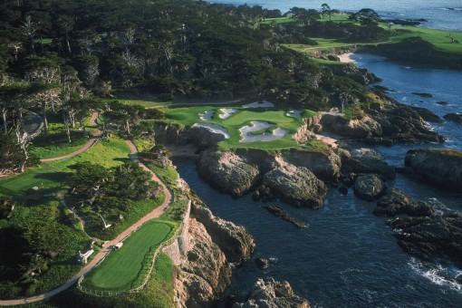 Cypress Point Hole 15