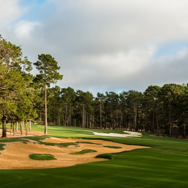 Poppy Hills Golf Course, Hole 4