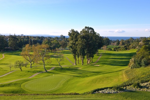 Riviera Country Club, Hole 18 Fairway