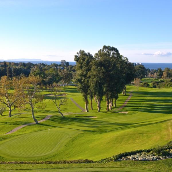 Riviera Country Club, Hole 18 Fairway