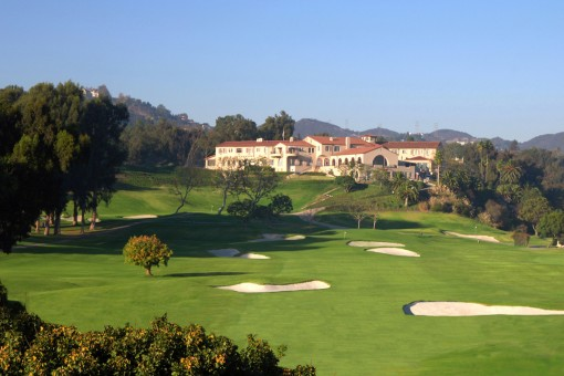 Riviera Country Club, Hole 18
