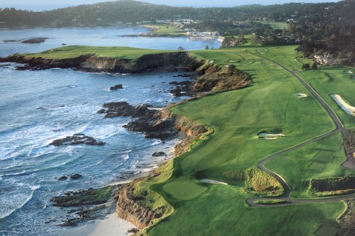 Pebble Beach Golf Links, Aerial 1