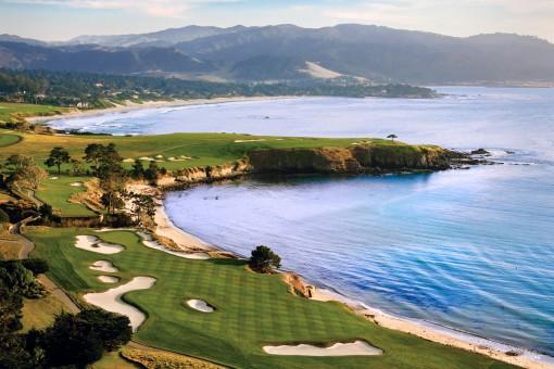 Pebble Beach Golf Links, Aerial 2