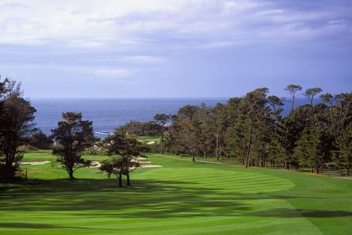 Spyglass Hill Golf Course**, Hole 1