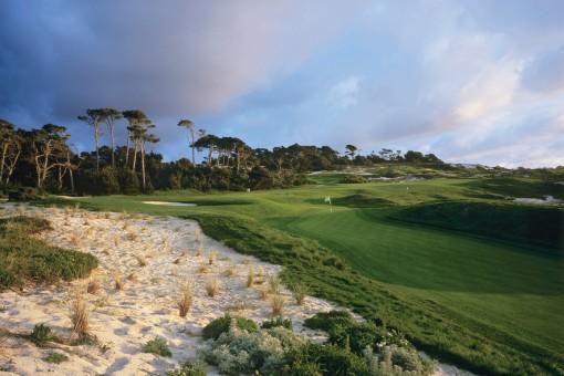 Spyglass Hill Golf Course**, Hole 4