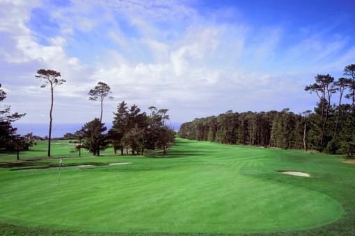 Spyglass Hill Golf Course**, Hole 6